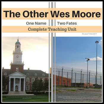 The Other Wes Moore Teaching  Unit