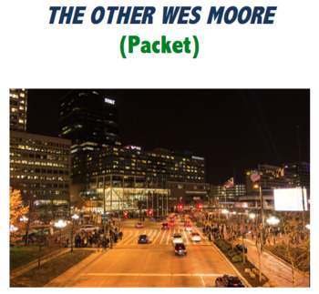 The Other Wes Moore Worksheet PACKET
