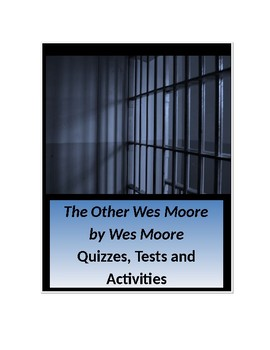 The Other Wes Moore by Wes Moore Unit
