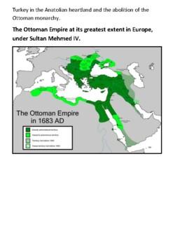 The Ottoman Empire Handout