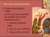 The Ottoman Empire Lesson Plan - Newspaper Activity