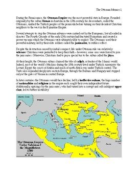The Ottoman Menace Handout