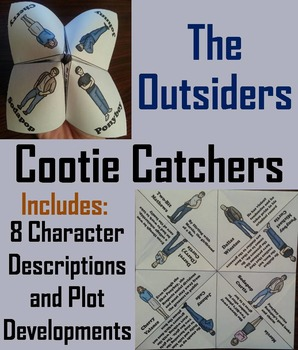 Outsiders Activity (Scoot Unit Review Game)