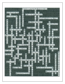The Outsiders: A Crossword Puzzle