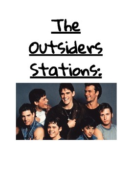 The Outsiders Activities/Stations