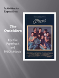 The Outsiders - Activities to Expand the Paperback & 1980's Movie