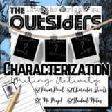 The Outsiders Novel Study: Character (PowerPoint and Worksheets)