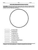 The Outsiders Activity - Johnny's Injuries Pie Chart
