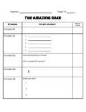 The Outsiders--Amazing Race Envelopes