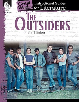 The Outsiders: An Instructional Guide for Literature (Physical book)