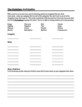 the outsiders worksheets | ... Puzzles on Book The Outsiders ...