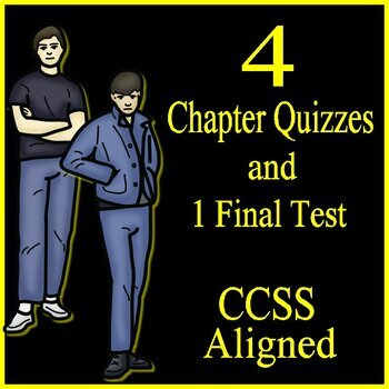 The Outsiders Novel Study Test Bundle Common Core Aligned
