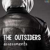 The Outsiders: Chapter Quizzes, Literary Test, Essays - Assessment Pack