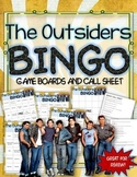 THE OUTSIDERS BINGO: INSTRUCTIONS, GAME BOARDS, AND CALL SHEETS