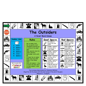 The Outsiders Board Game