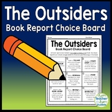 The Outsiders Book Report Project {Directions, Summary Page & Grading Rubric}