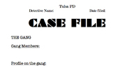 The Outsiders Case File and Poem activities