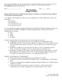 The Outsiders Reading Test Ch 5-8