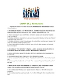 The Outsiders Chapter 2 Formative Assessment