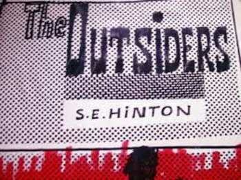 """The Outsiders"" Chapter 7 - interactive lesson with exit activity"
