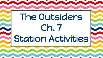 """""""The Outsiders"""" Chapter 7: Week of Station Activities"""