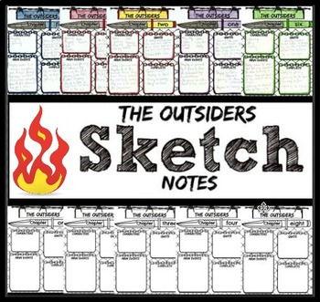The Outsiders Chapter Sketch Notes
