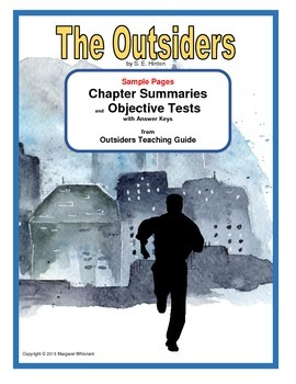 The Outsiders Chapter Summaries and Objective Tests