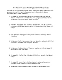 The Outsiders Chapters 1-3 Close Reading Questions