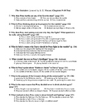 The Outsiders Chapters 9-10 Test