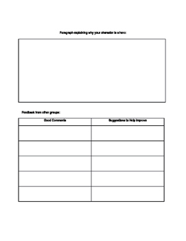 The Outsiders Character Analysis Worksheet