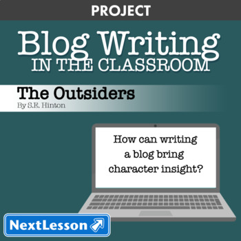 The Outsiders: Character Blog Writing - Project
