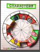 THE OUTSIDERS: CHARACTER WHEEL INTERACTIVE NOTEBOOK ACTIVITY