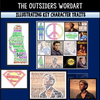 The Outsiders Novel Study: Word Art Activity and Technology Project