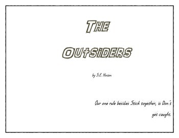 The Outsiders Characters and Expressions