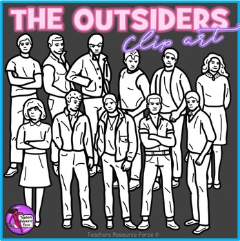 The Outsiders clip art