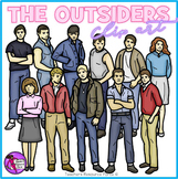 The Outsiders realistic clip art