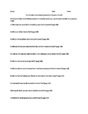 The Outsiders Close Reading Questions Chapters 7 and 8
