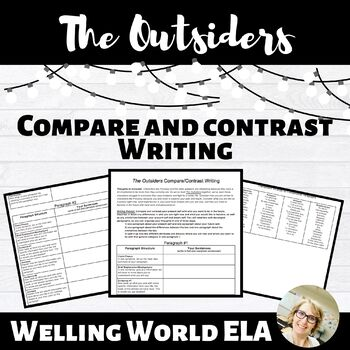 The Outsiders--Compare and Contrast Writing