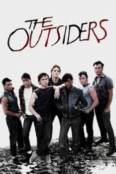 The Outsiders Complete Chapter by Chapter Crossword Puzzle Pack