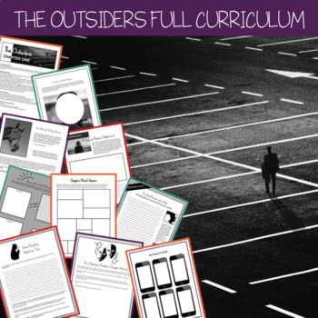 The Outsiders Complete Curriculum Unit (Release Special $3)