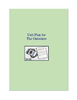 The Outsiders Complete Literature and Grammar Unit