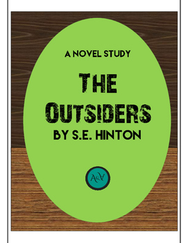 The Outsiders Complete Novel Study & Unit