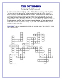 The Outsiders: Completing Clichés Crossword—Effective writing lesson!