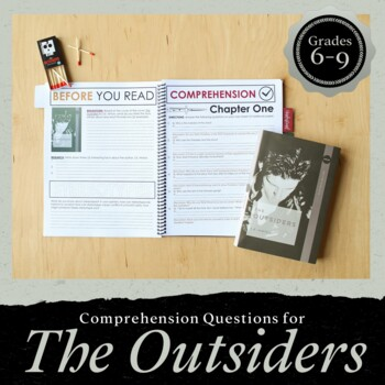 The Outsiders Comprehension Questions & Discussion Guide