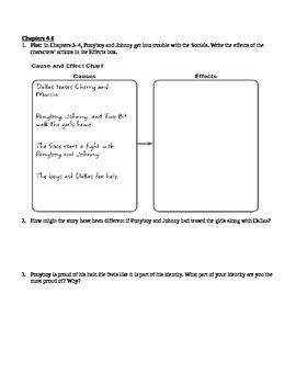 The Outsiders Critical Thinking Questions
