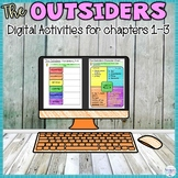 The Outsiders Digital Distance Learning for Chapters 1 2 3