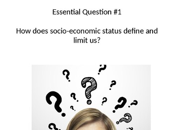 The Outsiders Essential Questions and Vocabulary (Ch. 1-12) PPT