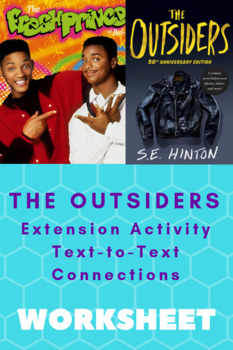 The Outsiders - Extension Viewing Activity
