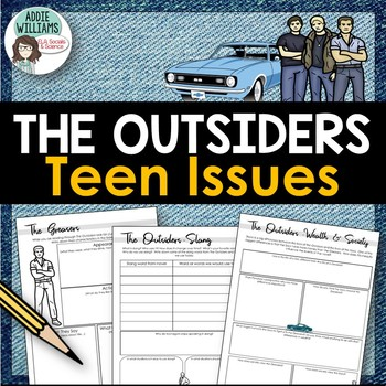 The Outsiders - Teen Issues Graphic Organizers