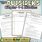 The Outsiders Chapters 4, 5, and 6 Guided Reading and Writ